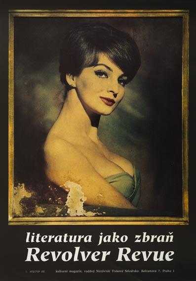 Plakát Madona - literatura jako zbraň