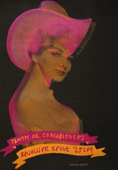 Plakát Madona - 25 let Revolver Revue