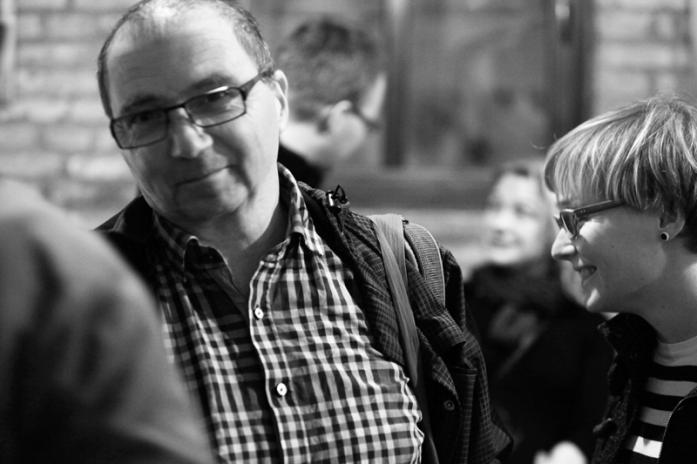 Fotoreportáž Petra Horčičky z uvedení knihy Zvláštní zacházení