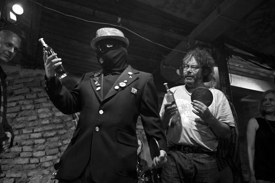 Fotografie Karla Cudlína z předávání Ceny Revolver Revue za rok 2010!