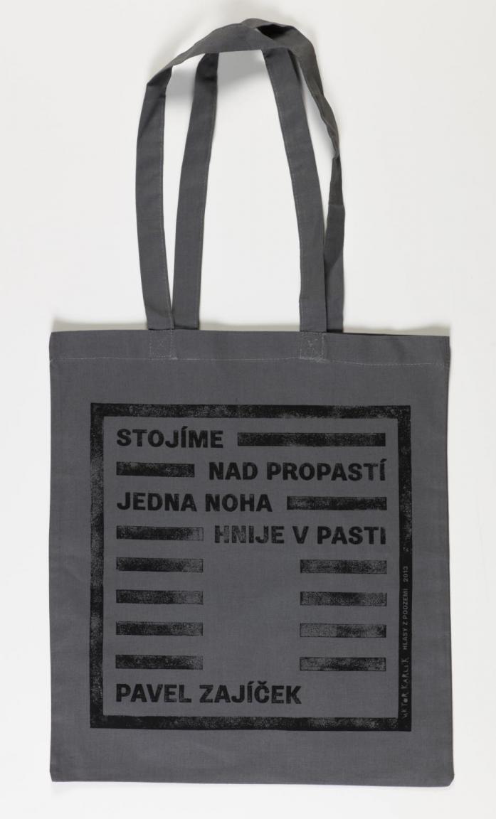 Taška / Pavel Zajíček – šedá