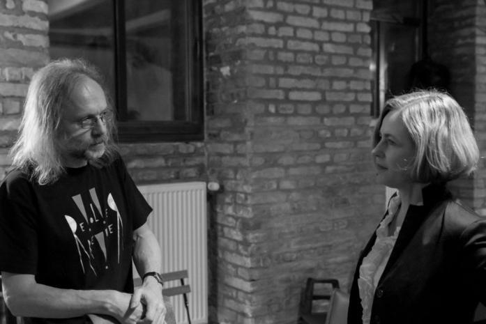 Z Večera RR / fotoreportáž + ukázka z Jedné věty Petra Hrušky