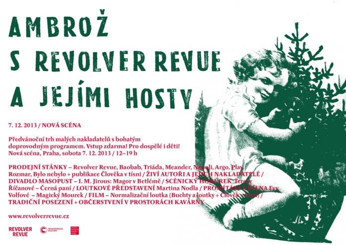 pozvání / AMBROŽ S REVOLVER REVUE A JEJÍMI HOSTY / 7. 12. NOVÁ SCÉNA