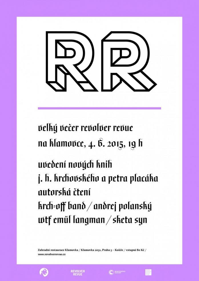 VELKÝ VEČER REVOLVER REVUE NA KLAMOVCE / již tento čtvrtek