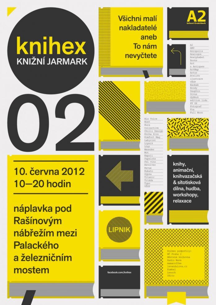 Pozvání na knižní jarmark / KNIHEX 2012