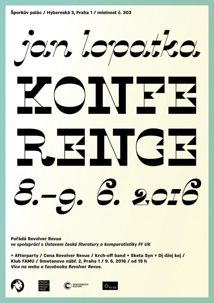 Plakát Konference Jan Lopatka - malý