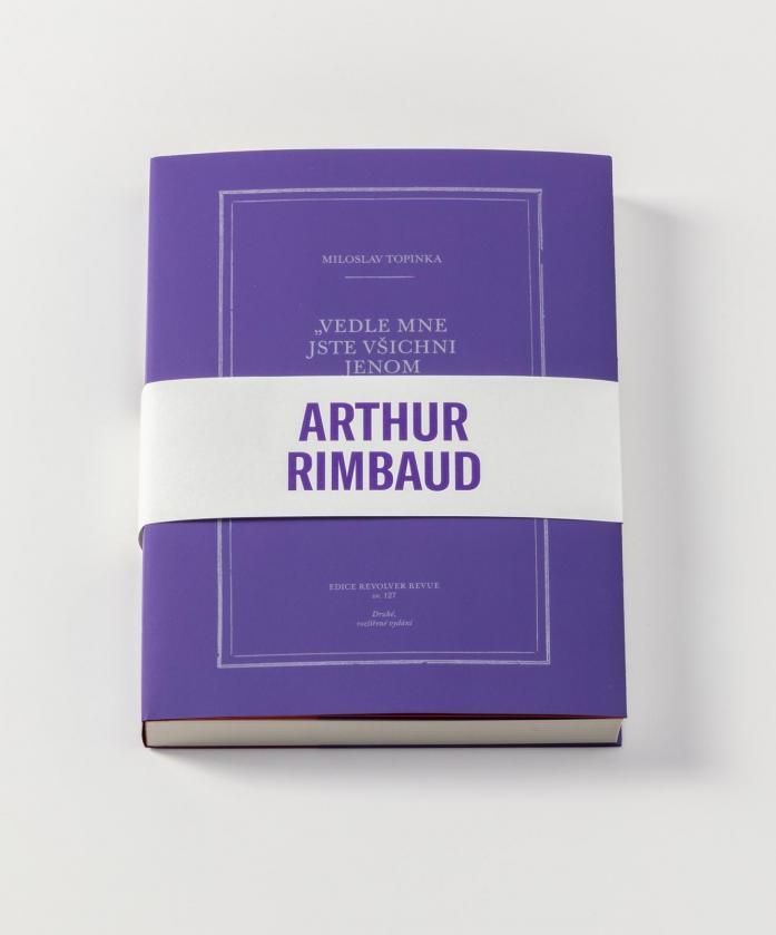 Nově kniha o Rimbaudovi, rozšířené vydání!