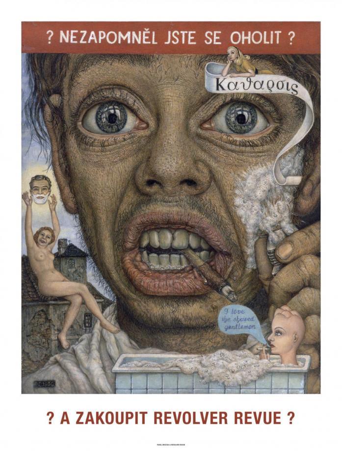 """Plakát Pavel Brázda: """"Nezapomněl jste se oholit?"""" + """"Chodící krabice"""" / speciální nabídka"""