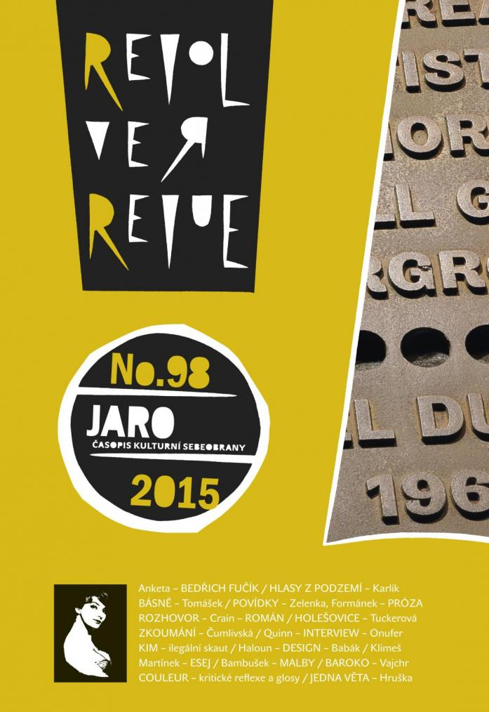 CO NAJDETE V JARNÍ REVOLVER REVUE (č. 98/2015)