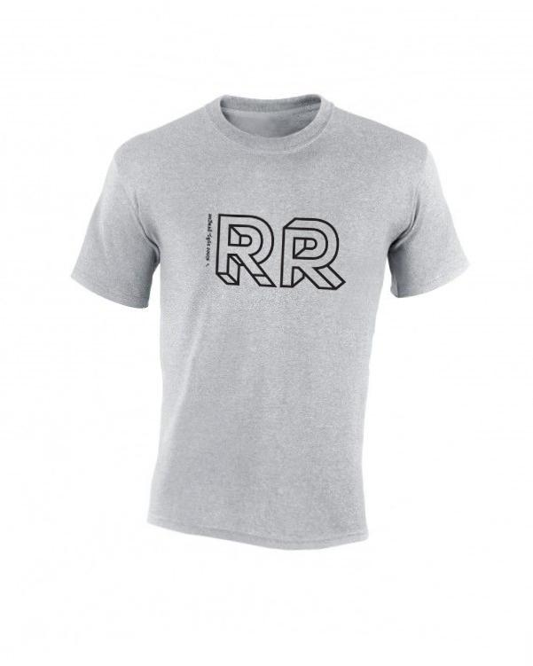 Triko 30 let RR (šedé) – pánské