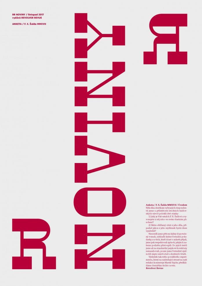 RR noviny / F. X. Šalda