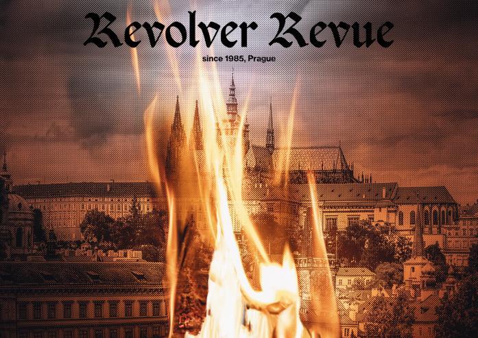 Plakát nejen k 35 letům Revolver Revue