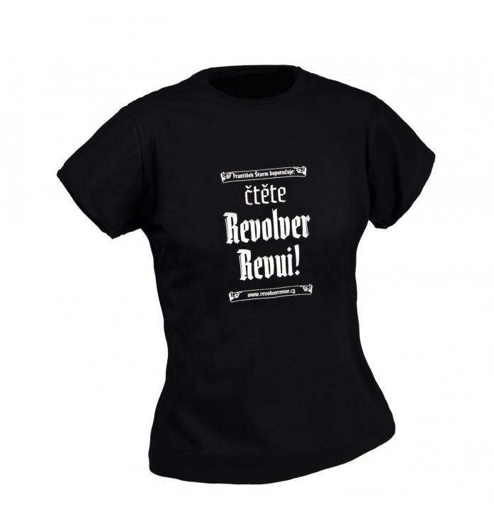 Triko Čtěte Revolver Revui! – dámské
