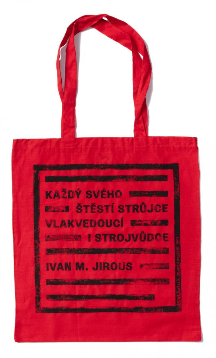 Taška / I. M. Jirous – červená