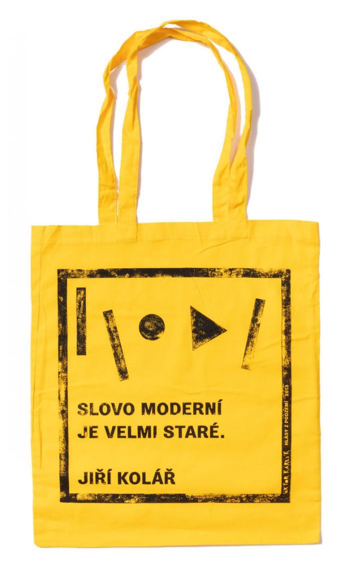 Taška / Jiří Kolář – žlutá