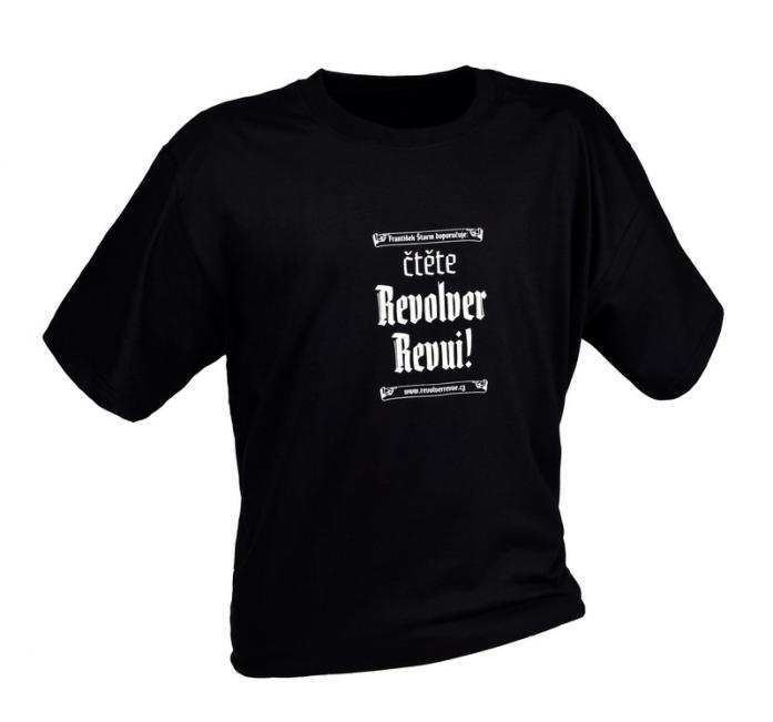 Triko Čtěte Revolver Revui! – pánské