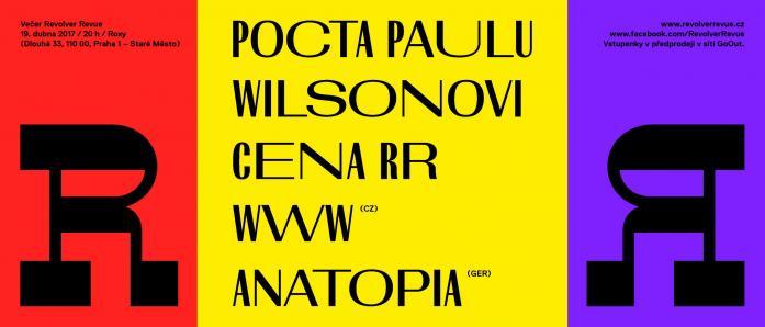 POCTA PAULU WILSONOVI / 19. dubna v ROXY